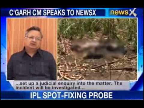 Chhattisgarh CM Raman Singh rules out the role of army in fighting Naxals