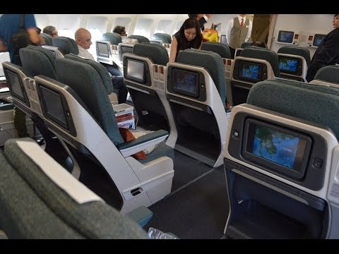 Experience Cathay Pacific short business class on this Airbus A330-300 service from Hong Kong to Bangkok in seat 22K. This is Cathay's latest business class ...