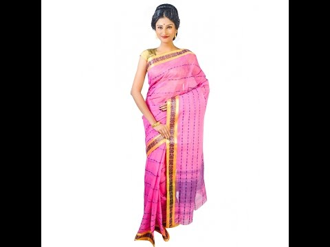 Dhaniakhali Tant Saree Manufacturer Wholesaler Delhi India