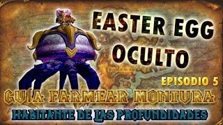 World of Warcraft LEGION   GUÍA (EASTER EGG OCULTO) para CONSEGUIR HABITANTE DE LAS PROFUNDIDADES