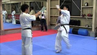 Yuki Maeda Jodan Mawashi Geri