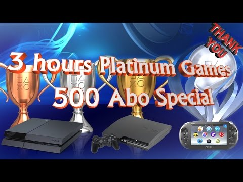 48 Easy & Fast PS4/PS3/PSVITA Platinum Games under 3 hours (500 Abo Special THANK YOU)