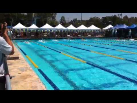 Alex's 200 butterfly at Junior Olympics