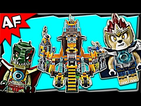 LION CHI TEMPLE 70010 Lego Legends of Chima Stop Motion Set Review