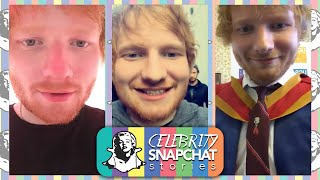 ED SHEERAN October 2015 Snapchat Story | feat. Kevin, Stuart, & Tori Kelly