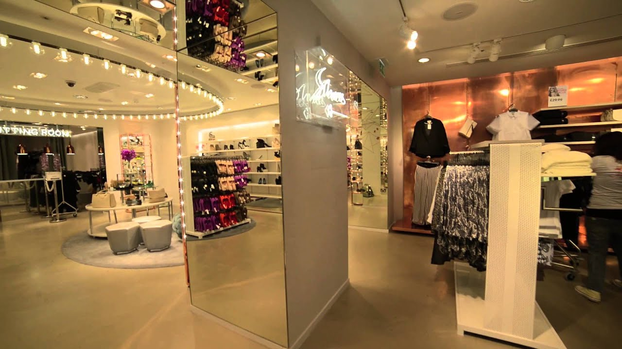 Clothing Store Display Design
