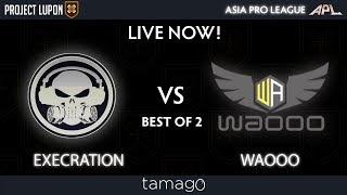 Execration vs Waooo Game 1 (BO2) | Asia Pro League