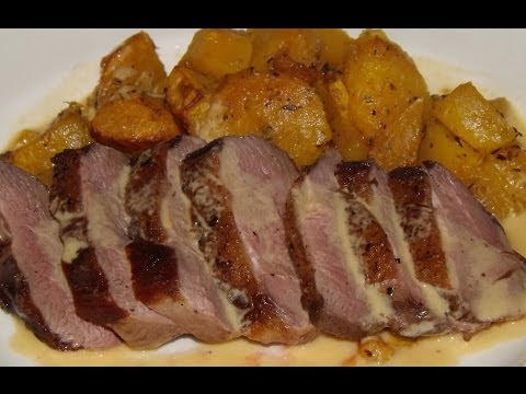 How To Prepare And Cook A Duck (Part 3.) Duck Breasts,Pan Fried.