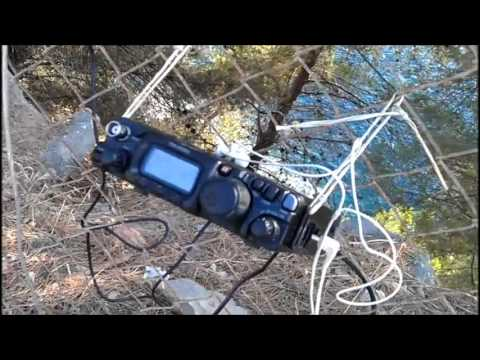 EA6 / DJ0MY IOTA 2012 Contest QRP Station