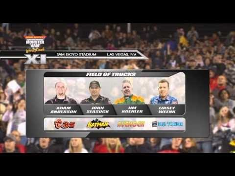 Monster Jam World Finals XI Freestyle Introduction