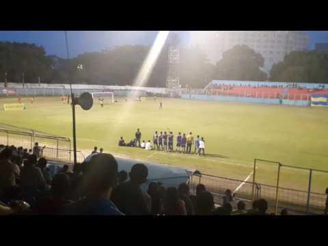 Adu penalti Persma 1960 Manado vs Persbit Bitung