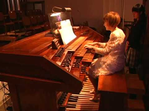 Arizona Bach Festival 2010 - Opening Organ Recital Video