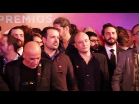 Cena de los Nominados Premios #Goya2016