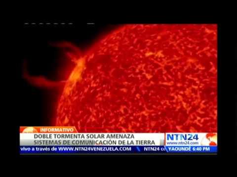 Dos tormentas solares se dirigen hacia la Tierra