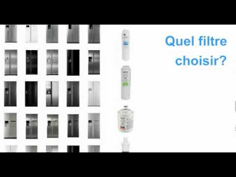 filtre frigo americain youtube. Black Bedroom Furniture Sets. Home Design Ideas