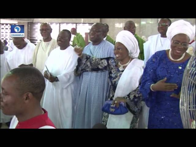 Metrofile: Frm.  Ekiti Governor; Fayemi Ends Tenure With Special Thanksgiving