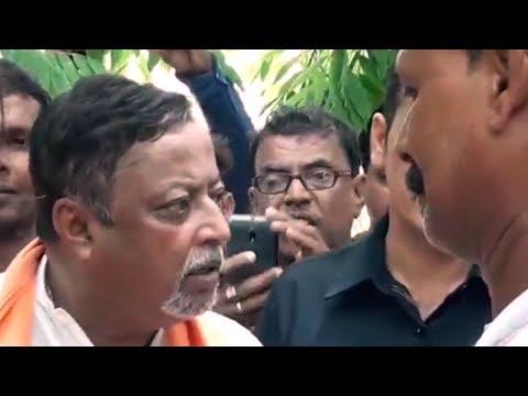 কি কান্ড !! এবার পুলিশের সঙ্গে ঝামেলায় জড়ালেন মুকুল রায় - Mukul Roy Had Issue with Police Officer