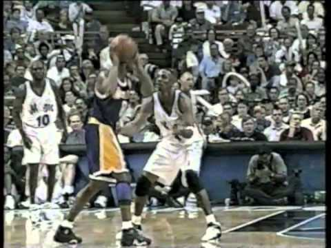 La Lakers V orlando magic Dennis rodman v penny hardaway shaq v michael doleac.