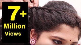 Easy Hair Style for Long Hair || Puff Hair Style || Ladies Hair Style Videos 2017