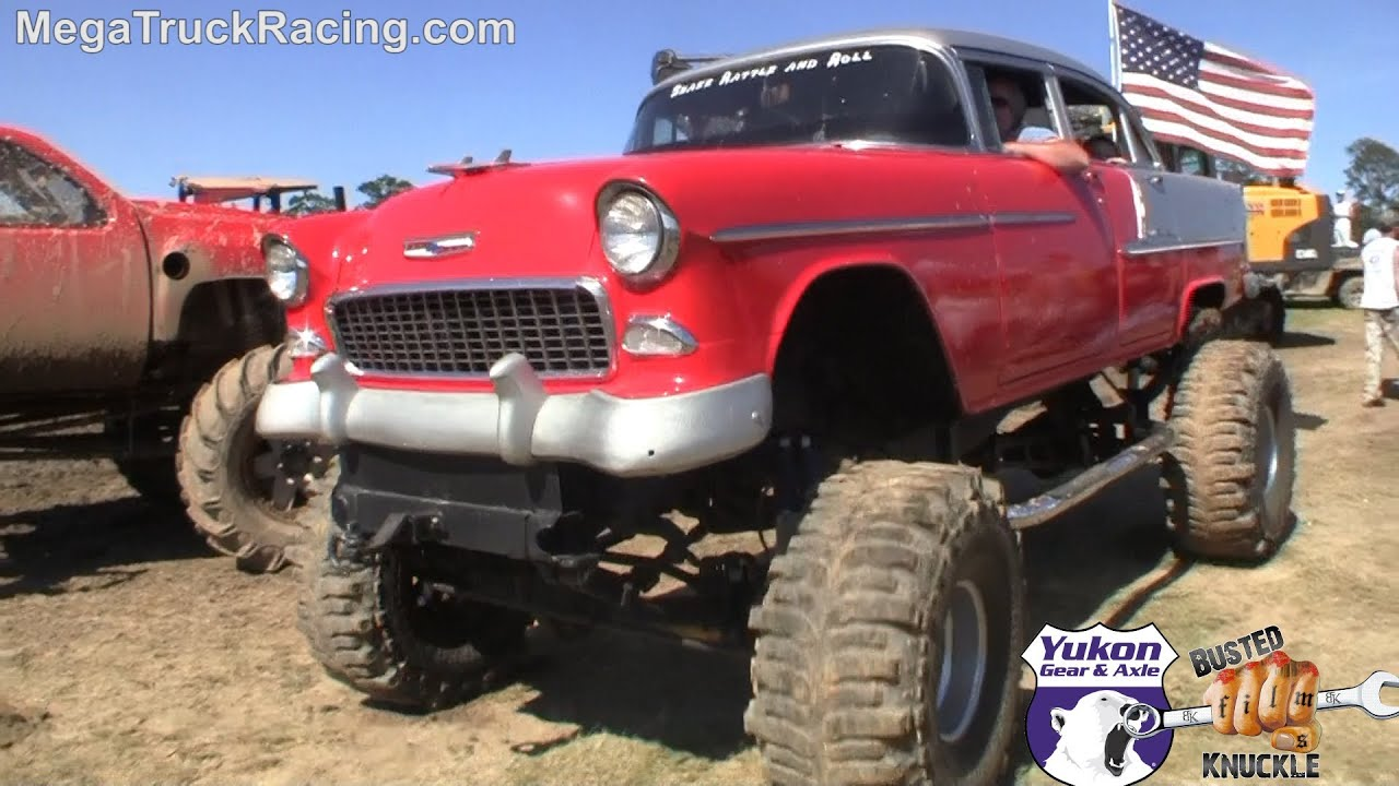 57 Chevy Truck >> 55' Chevy BelAir 4x4 - WIN or FAIL? - YouTube