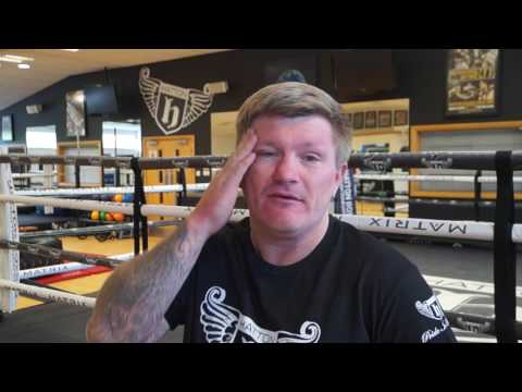 Ricky Hatton on the sad passing of Muhammad Ali