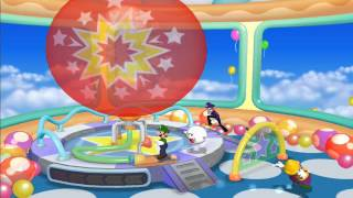 Mario Party 7 minigame: Balloon Busters 60fps