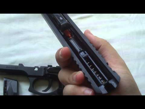Desmontando a Pistola Airsoft Spring Taurus PT 92 CyberGun (KWC)