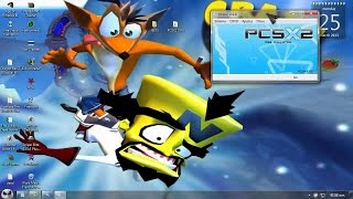 Descargar Emulador De PS2 PCSX2 [1Link] + Crash Twinsanity Para Pc  [Configurado] 2016