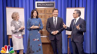 Pictionary with Shailene Woodley, Eugene Levy and Catherine O'Hara