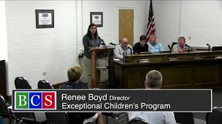 October 16, 2018 Beaufort County Board of Education Meeting