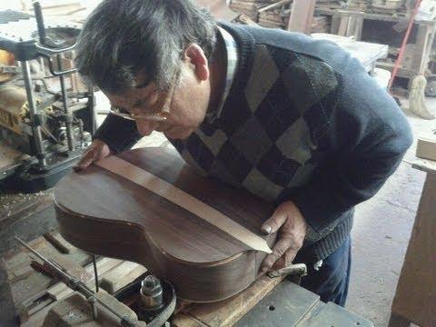 Construcción de Guitarra Clásica- Luthier Carlos López Menares/ Building a Classical Guitar.