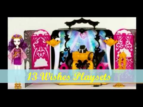 New Monster High Dolls and Playsets For 2013-2014!!! :D