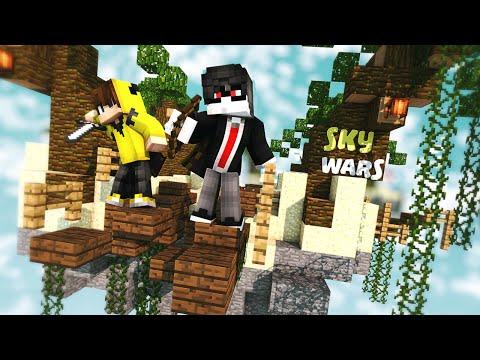 KatnissRG GAZA GELDİ KADİR ÇILDIRDI! (Minecraft : Sky Wars #34) w/IsmetRG