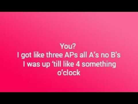 Haschak Sisters-Slumber Party (Lyrics)