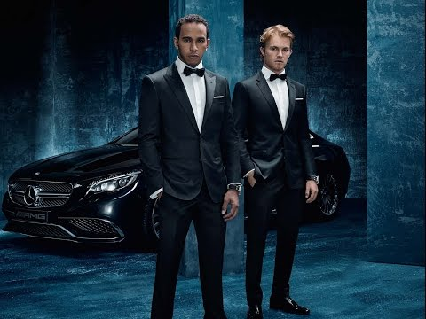 Behind The Scenes: Lewis And Nico At The Hugo Boss Launch Photoshoot! video