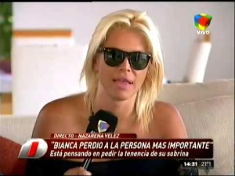 Nazarena Vélez quiere la tenencia de su sobrina