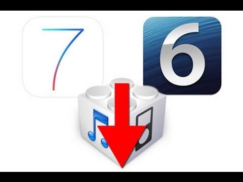如何從iOS 7 Beta 1降級到 iOS 6.1.3/6.1.4