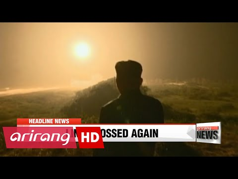 EARLY EDITION 18:00 Seoul's Defense Ministry says Pyongyang will continue to test fire missiles