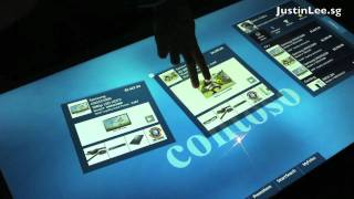 Samsung SUR40 + Microsoft Surface 2 First Look