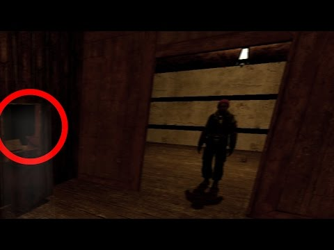 REAL GHOST FOUND IN GMOD!? SCARY HAUNTING FOOTAGE!