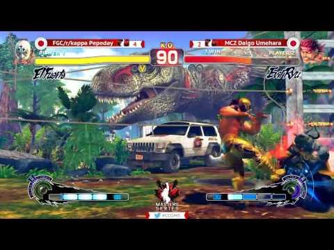 Canada Cup Masters Series - Daigo (Evil Ryu) vs Pepeday (El Fuerte) - USF4