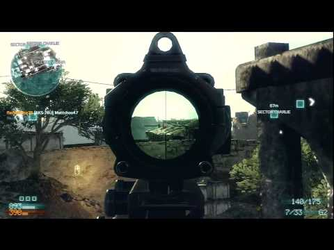 Medal of Honor 2010| M21 Sniper (BIG BOOM!)