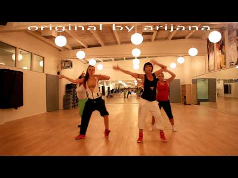 feeling hot by don omar - latin pop zumba fitness choreography