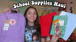 My sophmore back to school supplies haul 2019!
