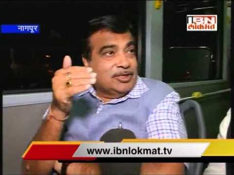 Nitin Gadkari Exclusive Interview By Mahesh Mahtre