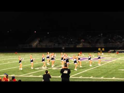 Joy Christian School Halftime Cheer Performance