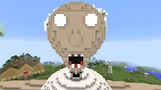 MEGA GRANNY TAKES OVER MINECRAFT!!!
