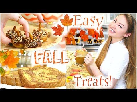 Easy & Fun Fall Treats   StilaBabe09