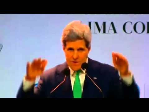 John Kerry Announces Climate Change Funding--Ripping Off USA for $3 BILLION!