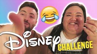 The DISNEY Challenge with Ryan!   INTENSE LOL